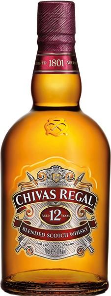 Chivas Regal Whisky 12 Jahre 0,7 l