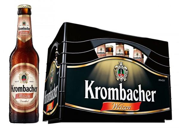 Krombacher Weizen Dunkel 20x0,5 l
