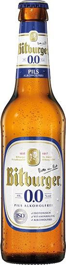 Bitburger 0,0% alkoholfreies Pils 24x0,33 l