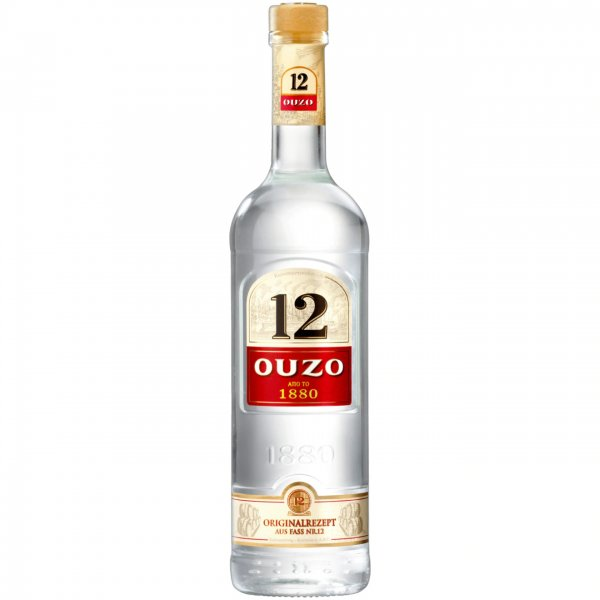 Ouzo 12 griech. Nation 0,7 l