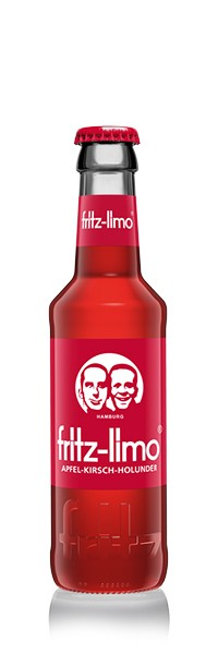 Fritz-Limo Apfel- Kirsch-Holunder 24x0,2 l