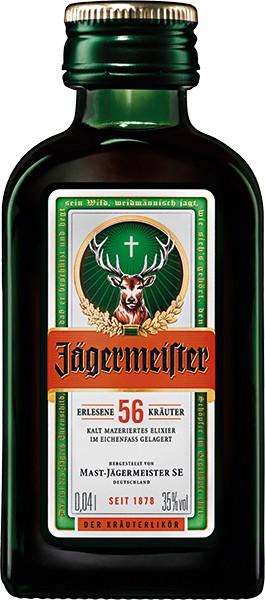 Jägermeister 35 % 24x0,02 l