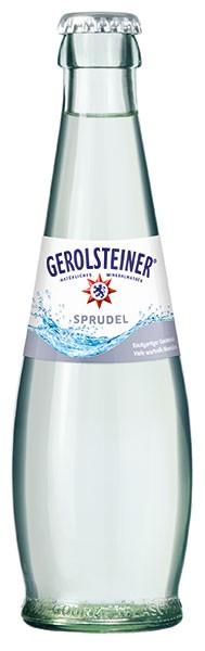Gerolsteiner Gourmet Sprudel 15x0,5 l