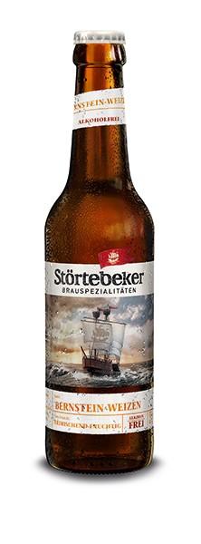 Störtebeker Bio Bernstein Weizen Alkoholfrei 20x0,5 l