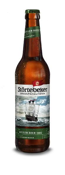 Störtebeker Bio Keller-Bier 1402 24x0,33 l