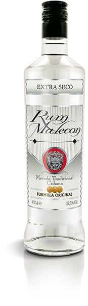 RUM MALECON EXTRA SECO 37,5% 1,0 l
