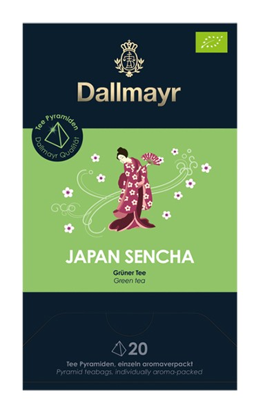 Dallmayr Japan Sencha Bio Grüner Tee 20x2,5g