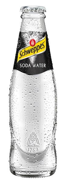 Schweppes Soda Water 24x0,2 l