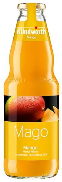 Klindworth Mango-Nektar 6x1,0 l