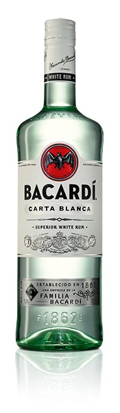 Bacardi Carta Blanca 37,5% 1.0 l
