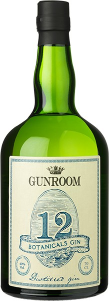 Gunroom 12 Botanicals Gin 40% 0,7 l