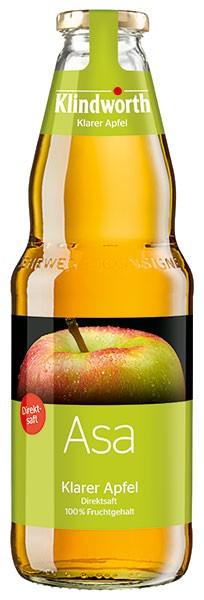 Klindworth Asa (Apfelsaft ) 6x1,0 l Kiste