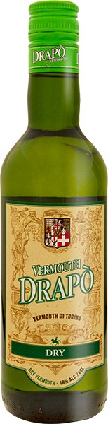 Drapo Dry Vermouth 18% 0,75 l