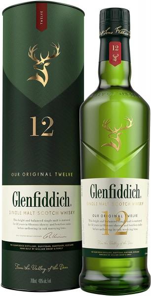 Glenfiddich Malt 12 J. 0,7 l