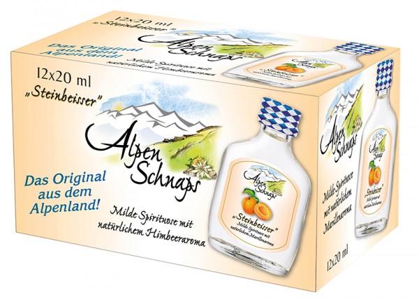 Alpenschnaps Marille 35% 20x0,02 l